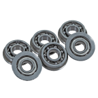 OPEN STEEL BEARINGS BUSHINGS 8 MM