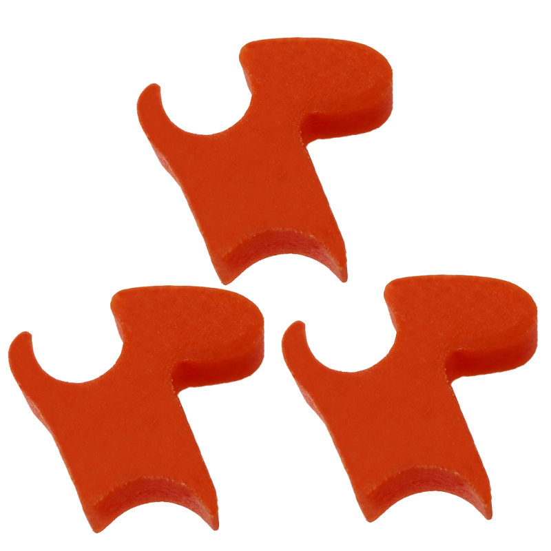 SET OF THREE PIECES OF GF REINFORCED TECHNOPOLYMER DELAYERS SPECIFICALLY DESIGNED FOR HIGH ROF